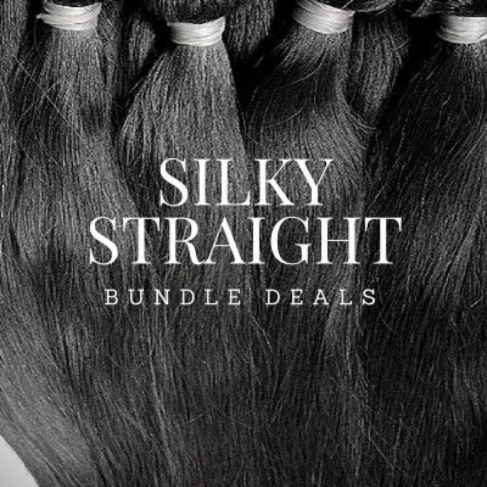 silky straight bundle deal